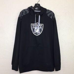 Other - Black & Silver ThermaBase Raiders Hoody Sweatshirt